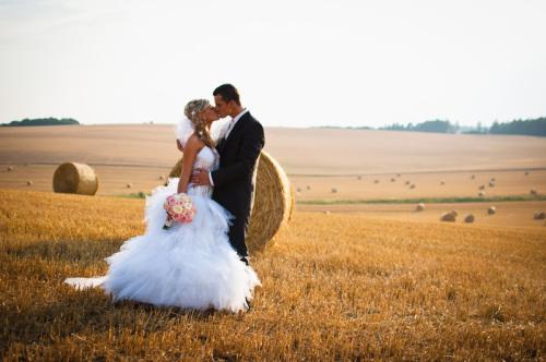 Podvečerní letní svatební focení